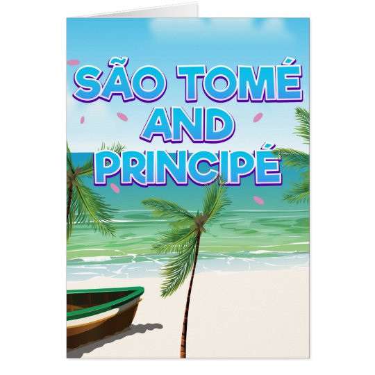 Tarjeta Playa de São Tomé y de Principé