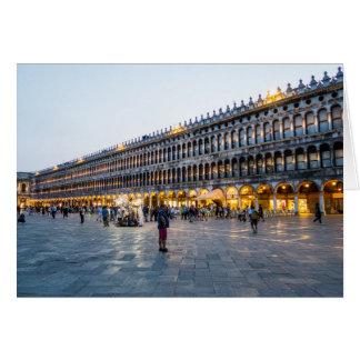 Tarjeta Plaza San Marco