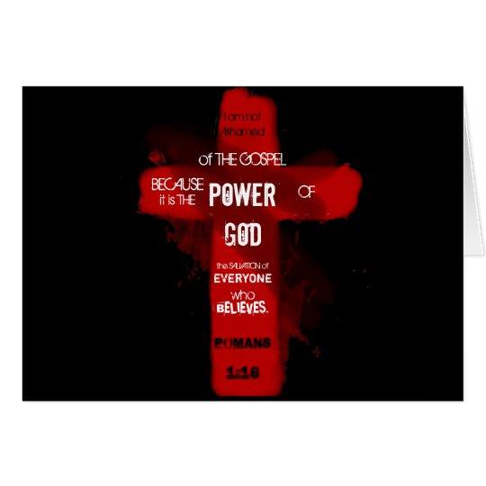 Tarjeta Poder de dios