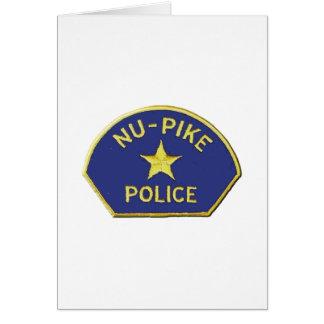 Tarjeta Policía de NU-Pike