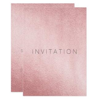Tarjeta Polvo color de rosa rosado del gris del oro del