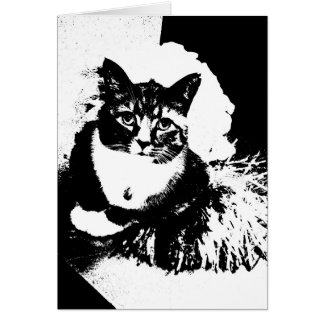 Tarjeta ¡Pom del pom del haz del gato I de la animadora!