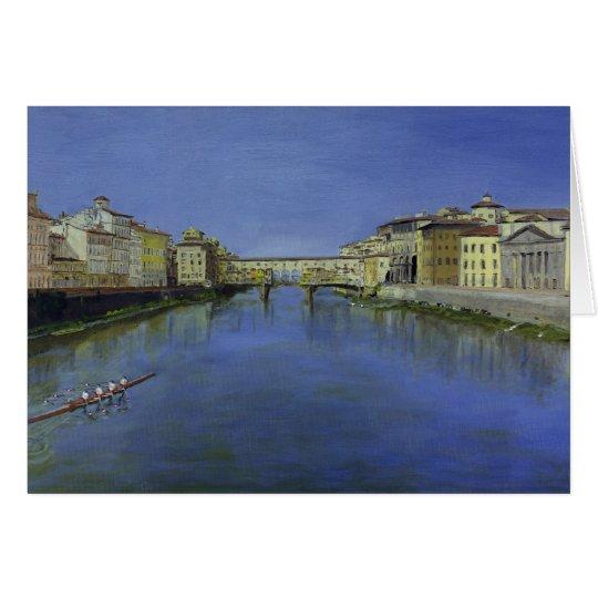 Tarjeta Ponte Vecchio