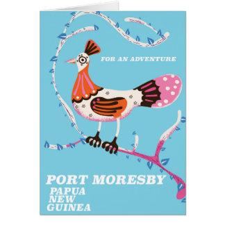 Tarjeta Port Moresby, Papúa Nueva Guinea