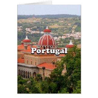 Tarjeta Portugal: Palacio de Monserrate, cerca de Sintra