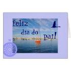 Tarjeta Portugués: El diámetro hace el día de padre de