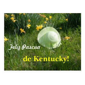 Tarjeta postal… Feliz Pascua de Kentucky