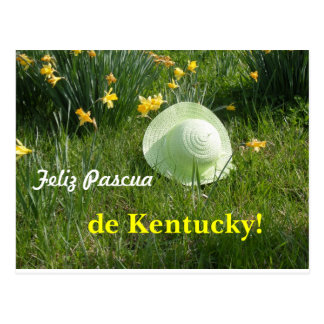 Tarjeta postal… Feliz Pascua de Kentucky Postal
