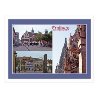 Tarjeta postal Freiburg