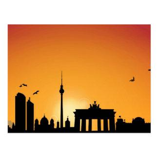 Tarjeta postal horizonte Berlín