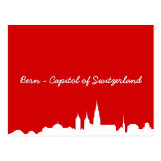 Tarjeta postal horizonte Berna