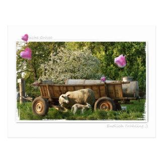 Tarjeta postal: La primavera Postal