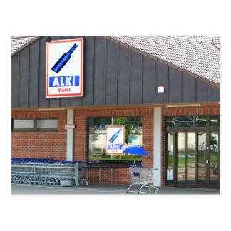 "Tarjeta postal - ""la visera Azul"" compra"