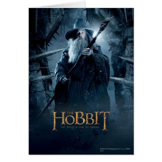 Tarjeta Poster 3 del carácter de Gandalf