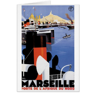 Tarjeta Poster de Marsella