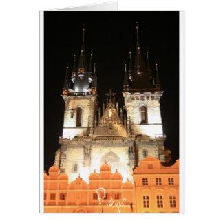 Tarjeta Praga