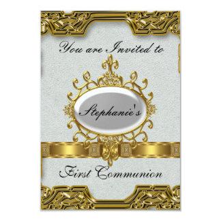 Tarjeta Primera comunión santa