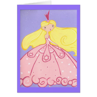 Tarjeta Princesa Birthday Wishes