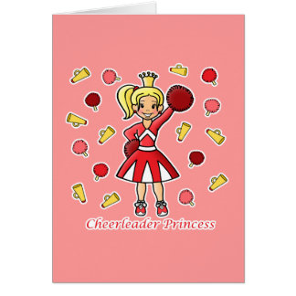 Tarjeta Princesa de la animadora