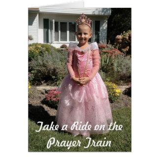 Tarjeta Princesa Krista