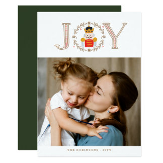 Tarjeta Príncipe Holiday Photo Cards del cascanueces