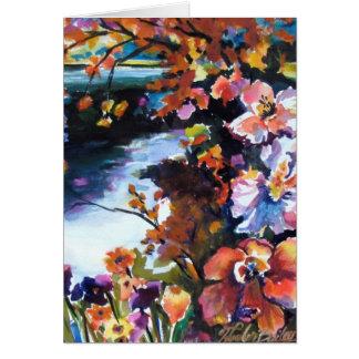 "Tarjeta ""Prismas del color en naturaleza """