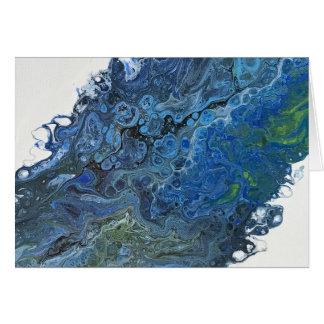 Tarjeta Profundidades azules