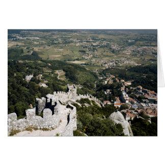 Tarjeta Provincia de Portugal, Lisboa, Sintra, visión