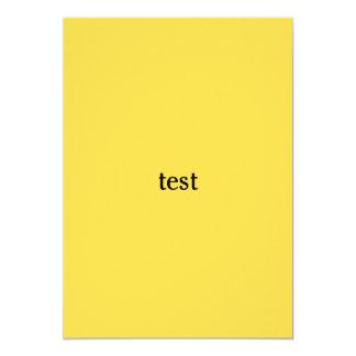Tarjeta prueba