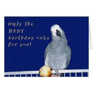 Tarjeta Pruebe la torta