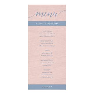 Tarjeta Publicitaria Azules polvorientos y se ruborizan las flores que