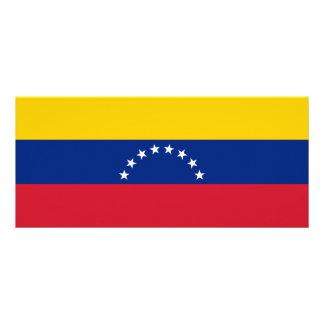 Tarjeta Publicitaria Bandera de Venezuela