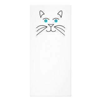 Tarjeta Publicitaria Cara del gato