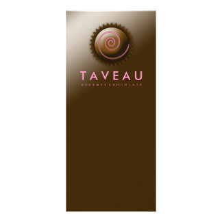 Tarjeta Publicitaria Chocolate gastrónomo exclusivo 311