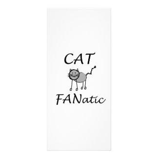 Tarjeta Publicitaria Gatos fanáticos