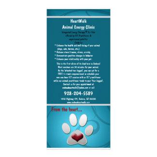 Tarjeta Publicitaria mascotas del rackcard