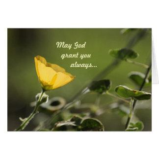 Tarjeta Puede la concesión de dios usted….