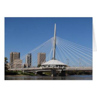 Tarjeta Puente de Winnipeg Provencher