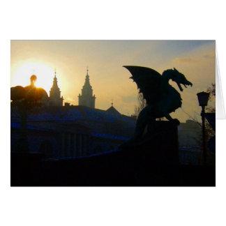 Tarjeta puente del dragón