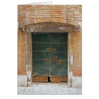 Tarjeta Puerta de Burano