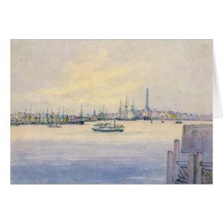 Tarjeta Puerto 1846 de Boston