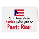 Tarjeta Puertorriqueño humilde