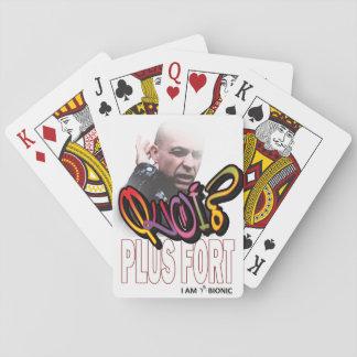 tarjeta que más muy baraja de cartas