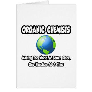 Tarjeta Químicos orgánicos… que hacen el mundo un mejor