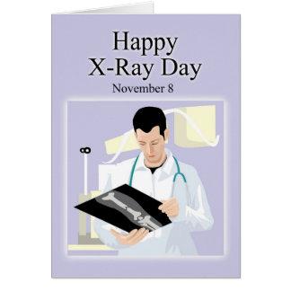 Tarjeta Radiografía día 8 de noviembre feliz