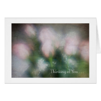 Tarjeta Ramo color de rosa rosado #2