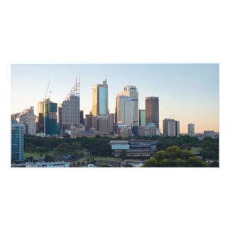 Tarjeta Rascacielos del centro de negocios de Sydney