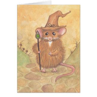 Tarjeta Ratón del mago