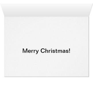 Tarjeta Ratón del navidad con el bastón de caramelo