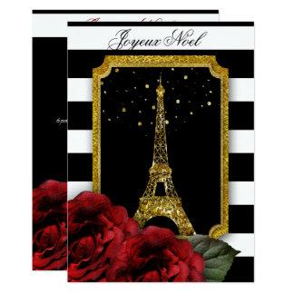 Tarjeta Raya subió París del blanco de la torre Eiffel del